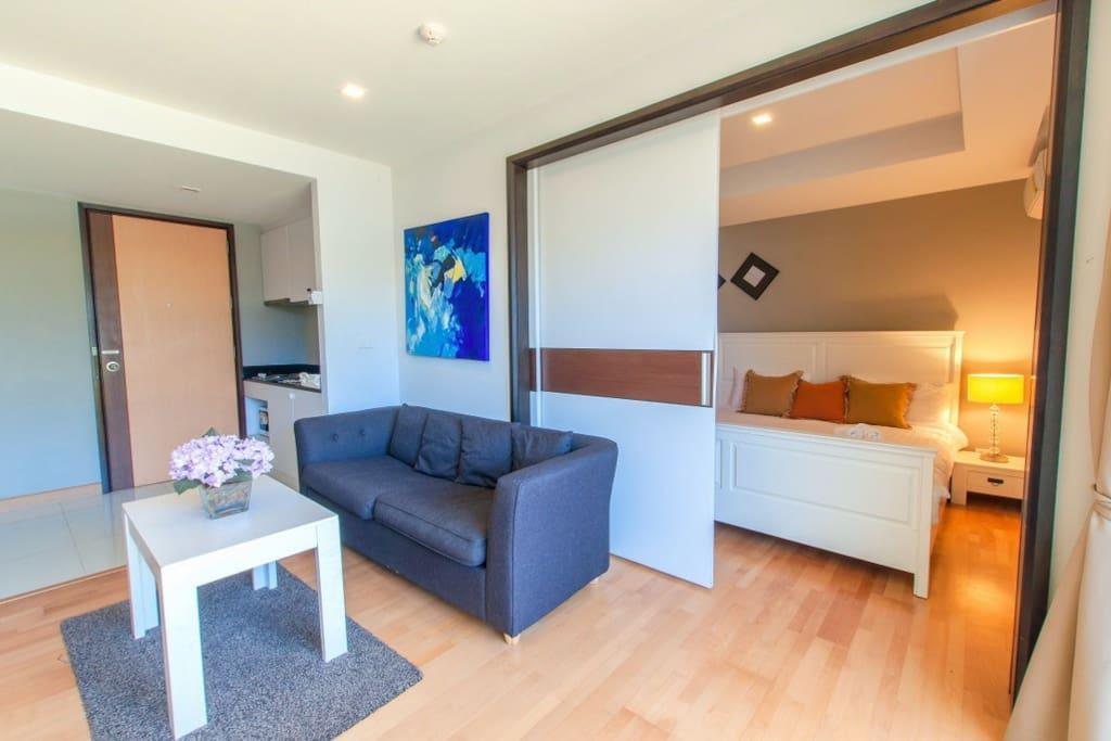 1BR Apartment with Poolview Partial@RoccoHuaHin 3K
