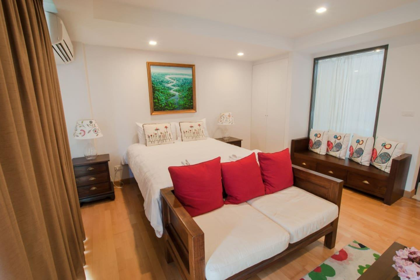 1BR Studio With SofaBed@RoccoHuaHin Condominium 5A