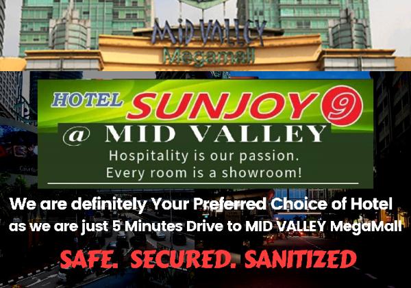 Hotel Sunjoy9 @ Mid Valley Kuala Lumpur