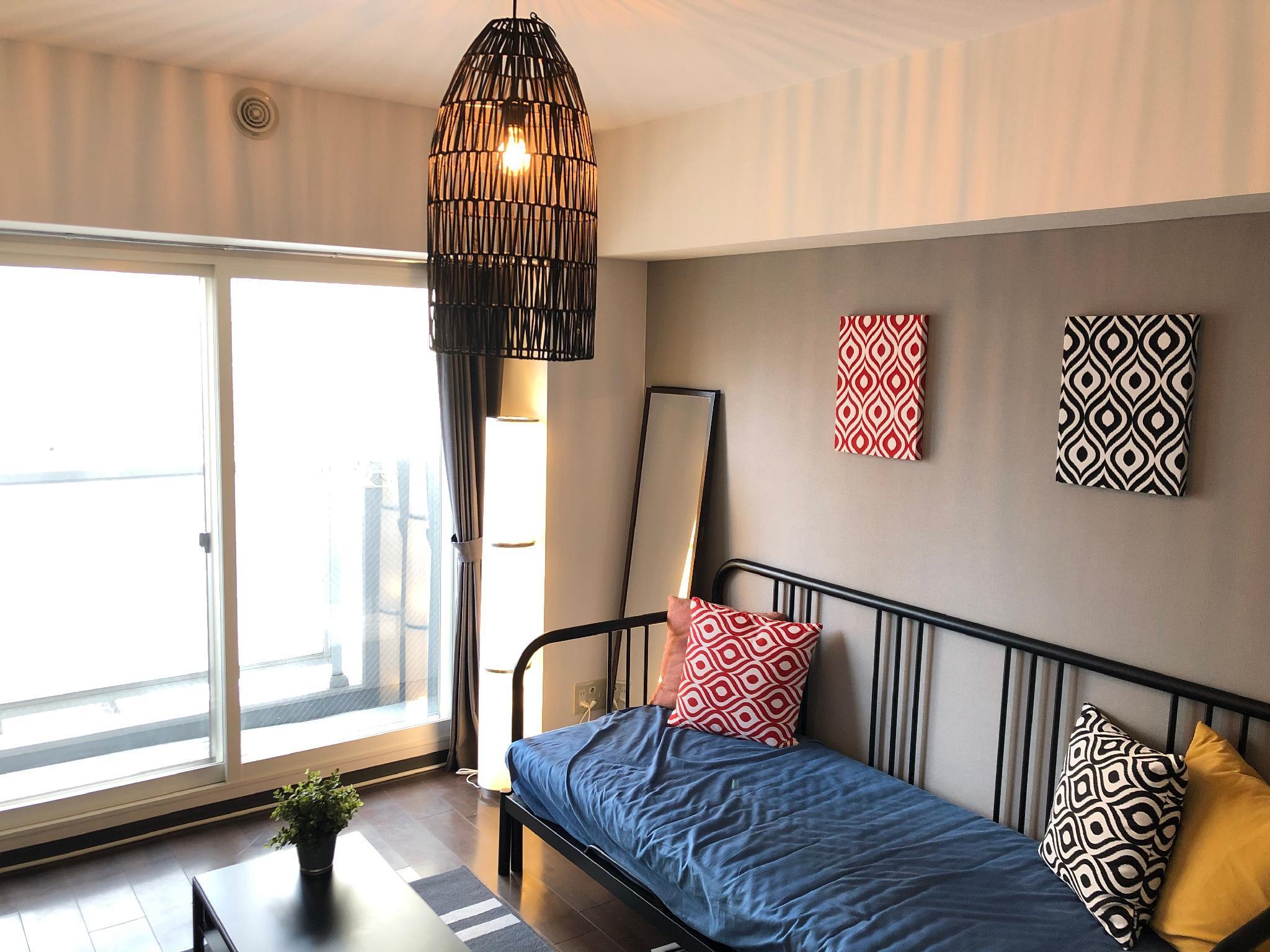 SO61 1 Bedroom Apartment In Sapporo