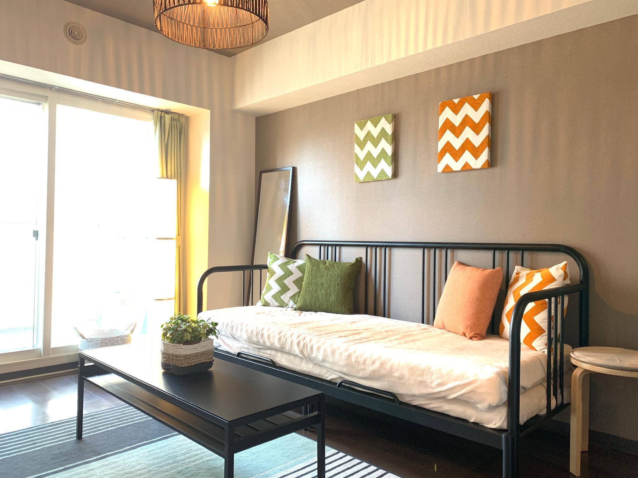 SO71 1 Bedroom Apartment In Sapporo