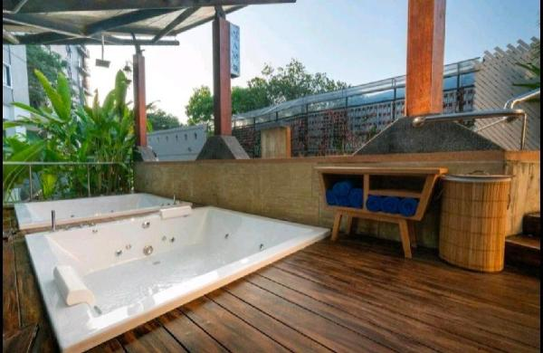 1Bedroom Kitchen FreeJacuzzi Pool 5min MAYA Chiang Mai
