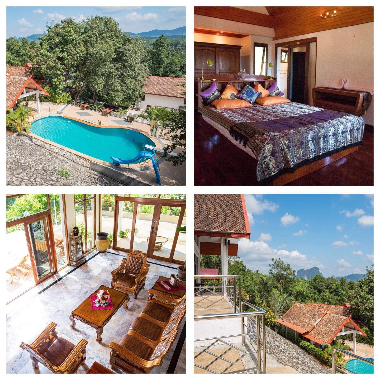 Klong Muang Villa (Grande Villa +ABF) วิลลา 1 ห้องนอน 2 ห้องน้ำส่วนตัว ขนาด 75 ตร.ม. – หาดคลองม่วง