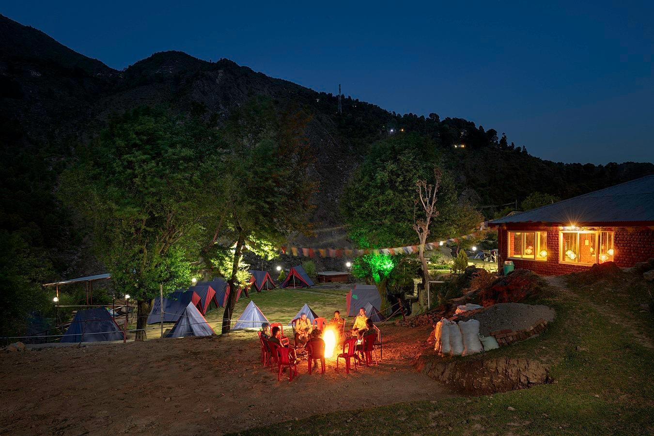 Triund Camps River Side Resort