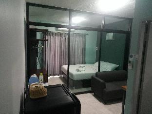 [ニンマーンヘーミン]アパートメント(28m2)| 1ベッドルーム/1バスルーム Huaykaew-Nimman : 1 Double Bed/1 Living: Room J