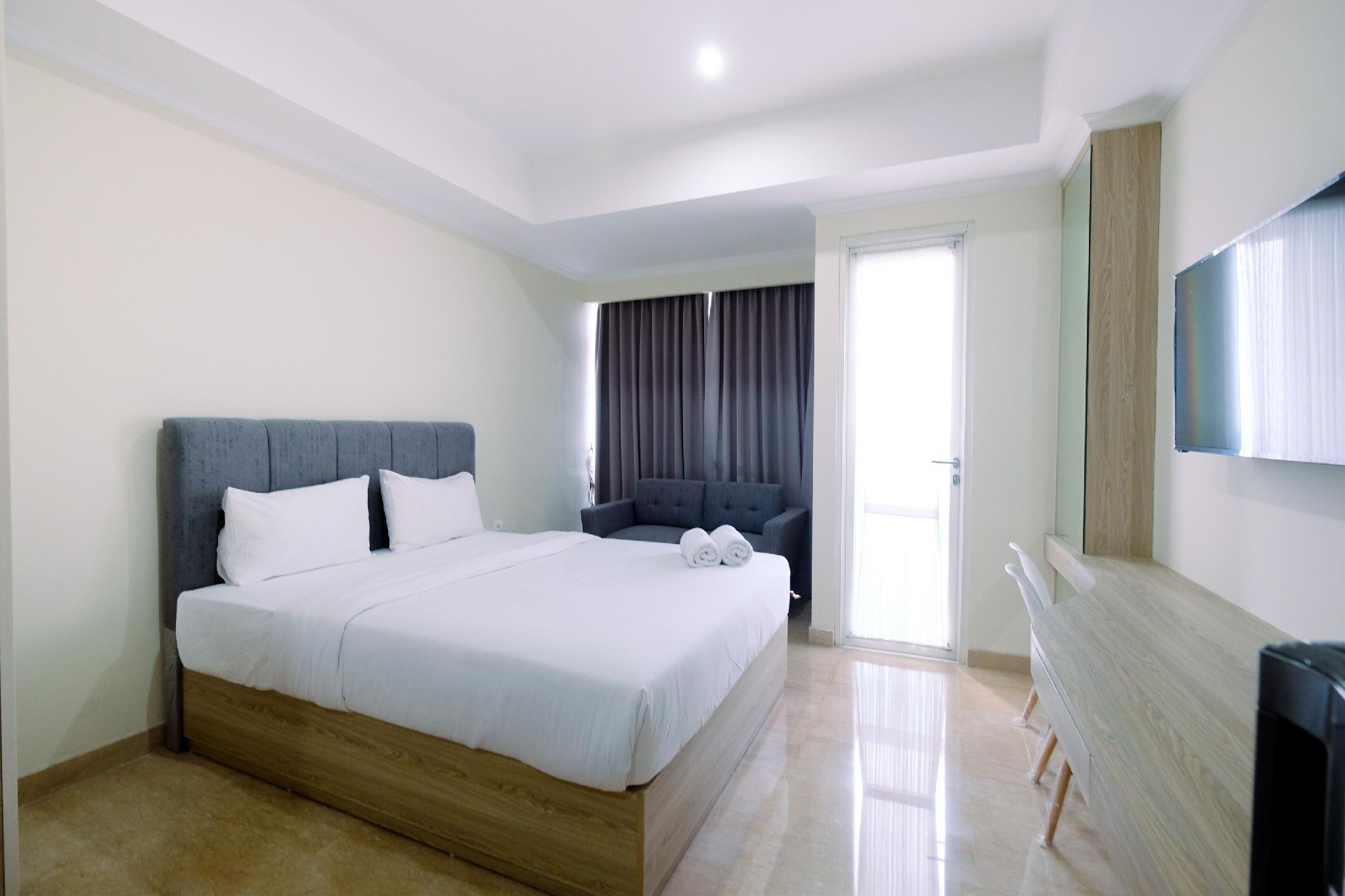 Cozy Studio Menteng Park Apartment By Travelio