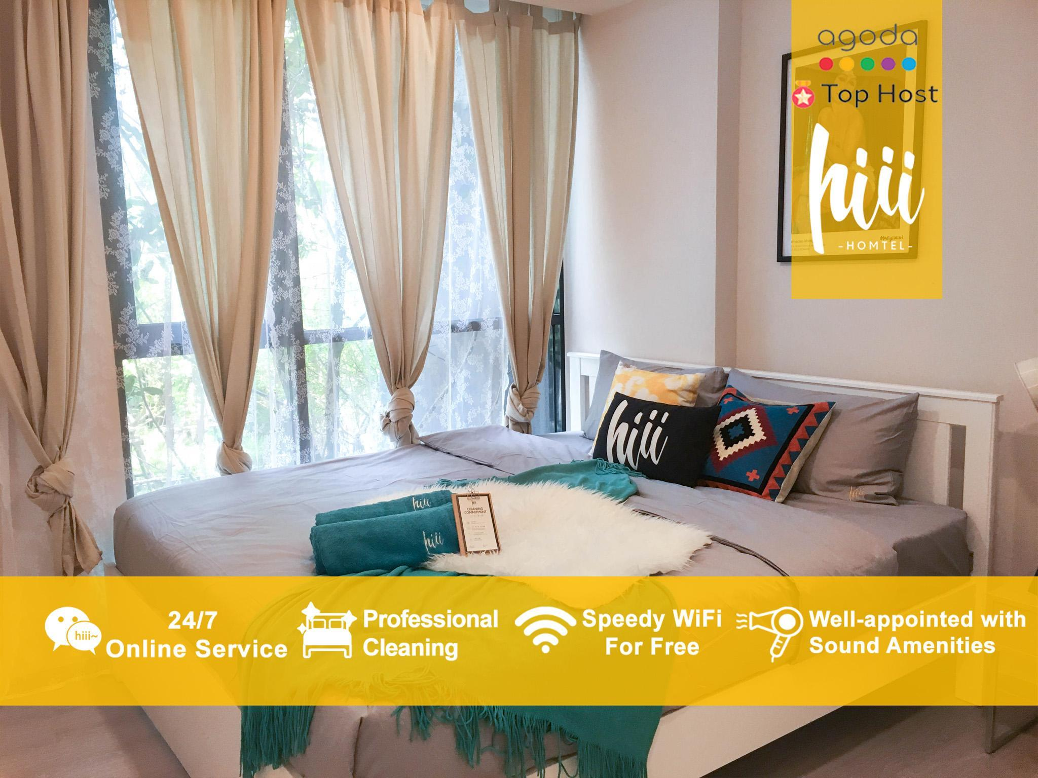 Hiii 2BR With Awesome GreenView 10min BTS BKK149
