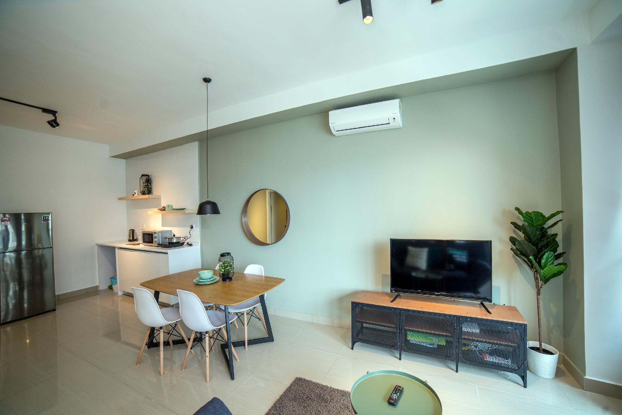 KL Arte Plus Modern Living Studio@COBNB  AT121