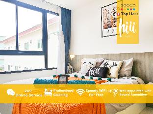 [パタヤ中心地]アパートメント(35m2)| 1ベッドルーム/1バスルーム [hiii]FlyingDays|RooftopPoolCentralFestival-UTP040