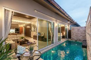 [カオタロ]ヴィラ(120m2)| 3ベッドルーム/2バスルーム AnB Poolvilla04 Modern 3BR Jomtien 6-8pax Jomtian