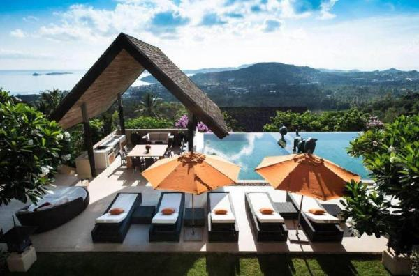 Modern Infinity Pool Villa Combo - 8 bedroom Koh Samui