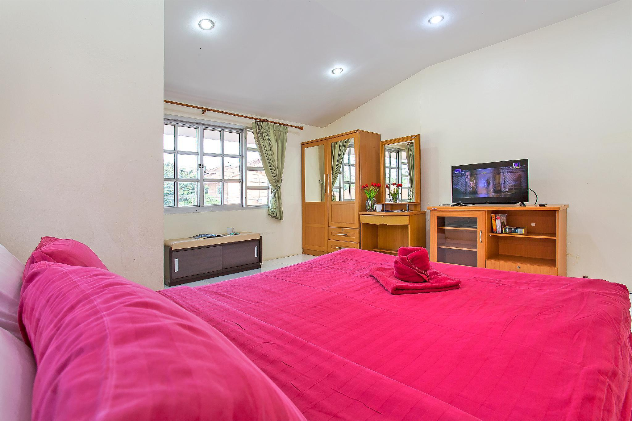 Baan Phailin | Cozy 4 BR Pool Villa, Jomtien Beach วิลลา 4 ห้องนอน 5 ห้องน้ำส่วนตัว ขนาด 148 ตร.ม. – หาดจอมเทียน