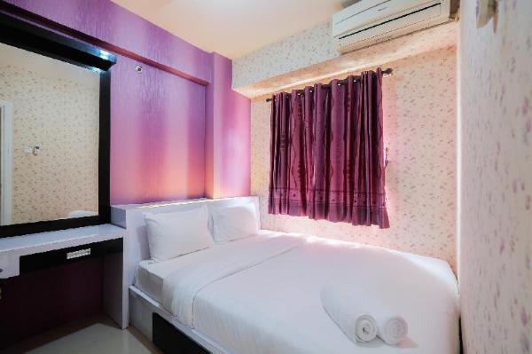 Homey 1BR Green Pramuka Apartment By Travelio Jakarta