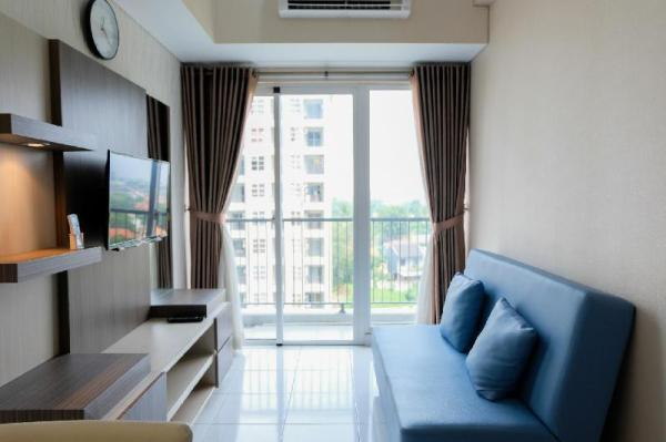 Cozy 1BR at Casa De Parco Apartment By Travelio Tangerang