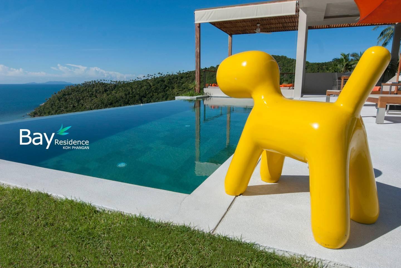 YELLOW DOG 4br - Pool, Panoramic Sea View, Garden วิลลา 4 ห้องนอน 4 ห้องน้ำส่วนตัว ขนาด 400 ตร.ม. – หาดสลัด