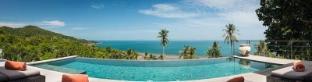 [ハッドサラッド]ヴィラ(240m2)| 4ベッドルーム/4バスルーム TROPICAL 4br - Pool, Panoramic Sea View, Design