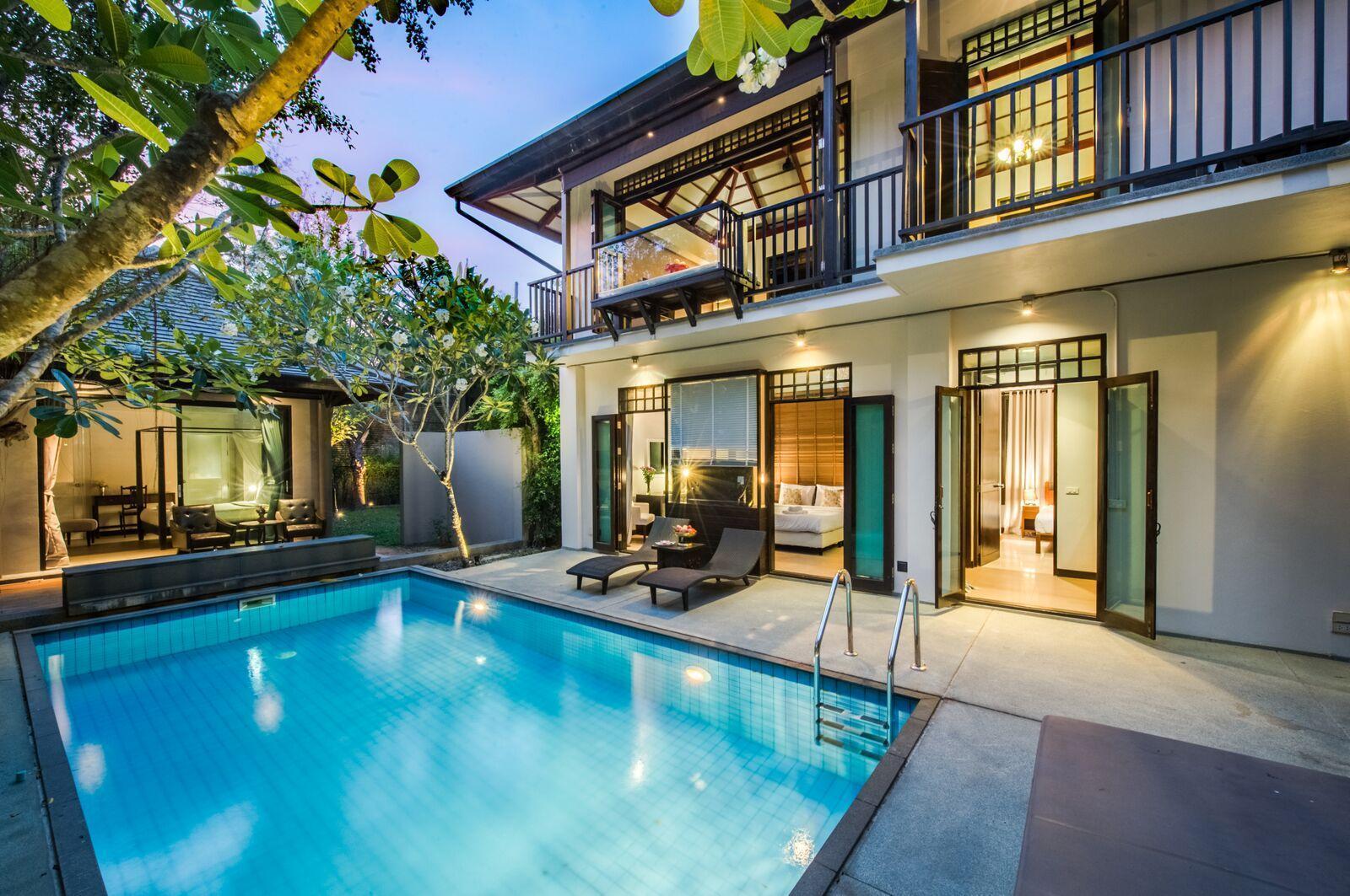 Phureesala Pool Villa 3 bedrooms (A2) วิลลา 3 ห้องนอน 4 ห้องน้ำส่วนตัว ขนาด 400 ตร.ม. – บางเทา