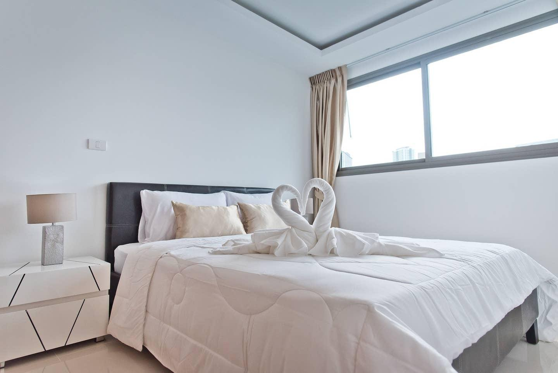 SPECTACULAR VIEW 1 Bed in Laguna Beach Maldives อพาร์ตเมนต์ 1 ห้องนอน 1 ห้องน้ำส่วนตัว ขนาด 41 ตร.ม. – หาดจอมเทียน