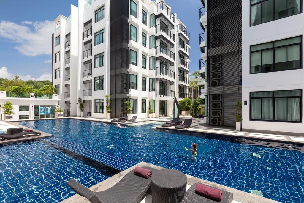 Kamala Regent D201-Central pool, gym,sauna& beach อพาร์ตเมนต์ 3 ห้องนอน 2 ห้องน้ำส่วนตัว ขนาด 120 ตร.ม. – กมลา