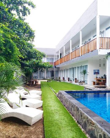 Dejavu Hotel Turtle Beach Gili Trawangan Lombok