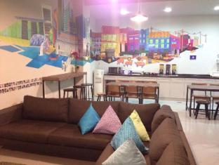 Five Stones Hostel Singapore - Guest Lounge Area