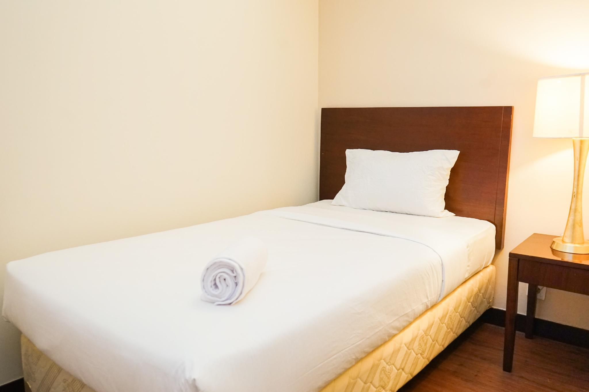 Compact 2BR @ Ancol Marina Apartment By Travelio