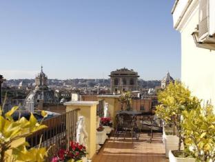 Hotel Pace Helvezia Rome - Balcony/Terrace