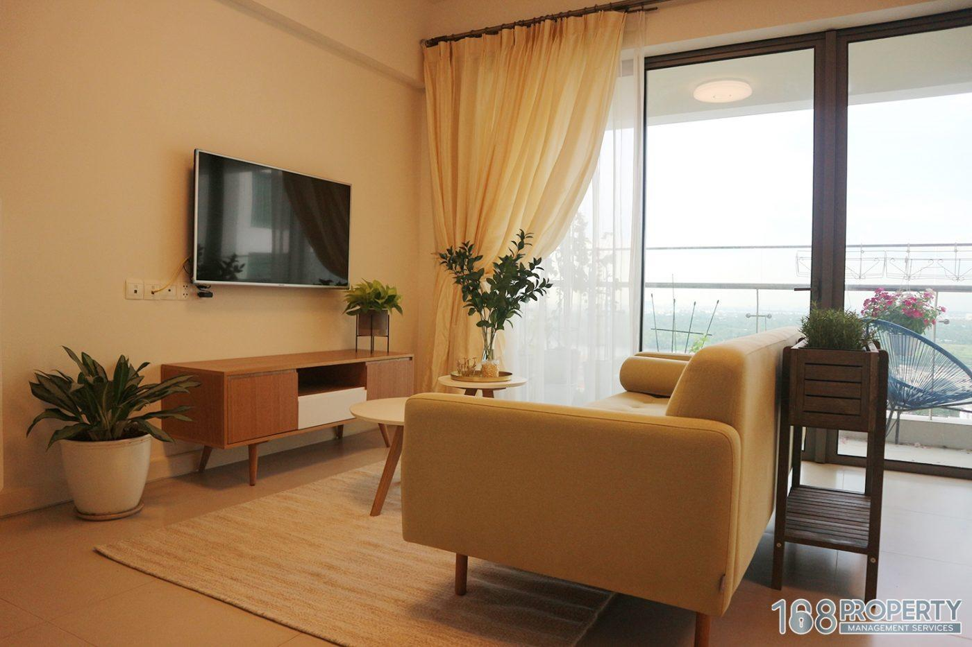 168PROPERTY 2BR APT AMAZING RIVER VIEW COZY STYLE