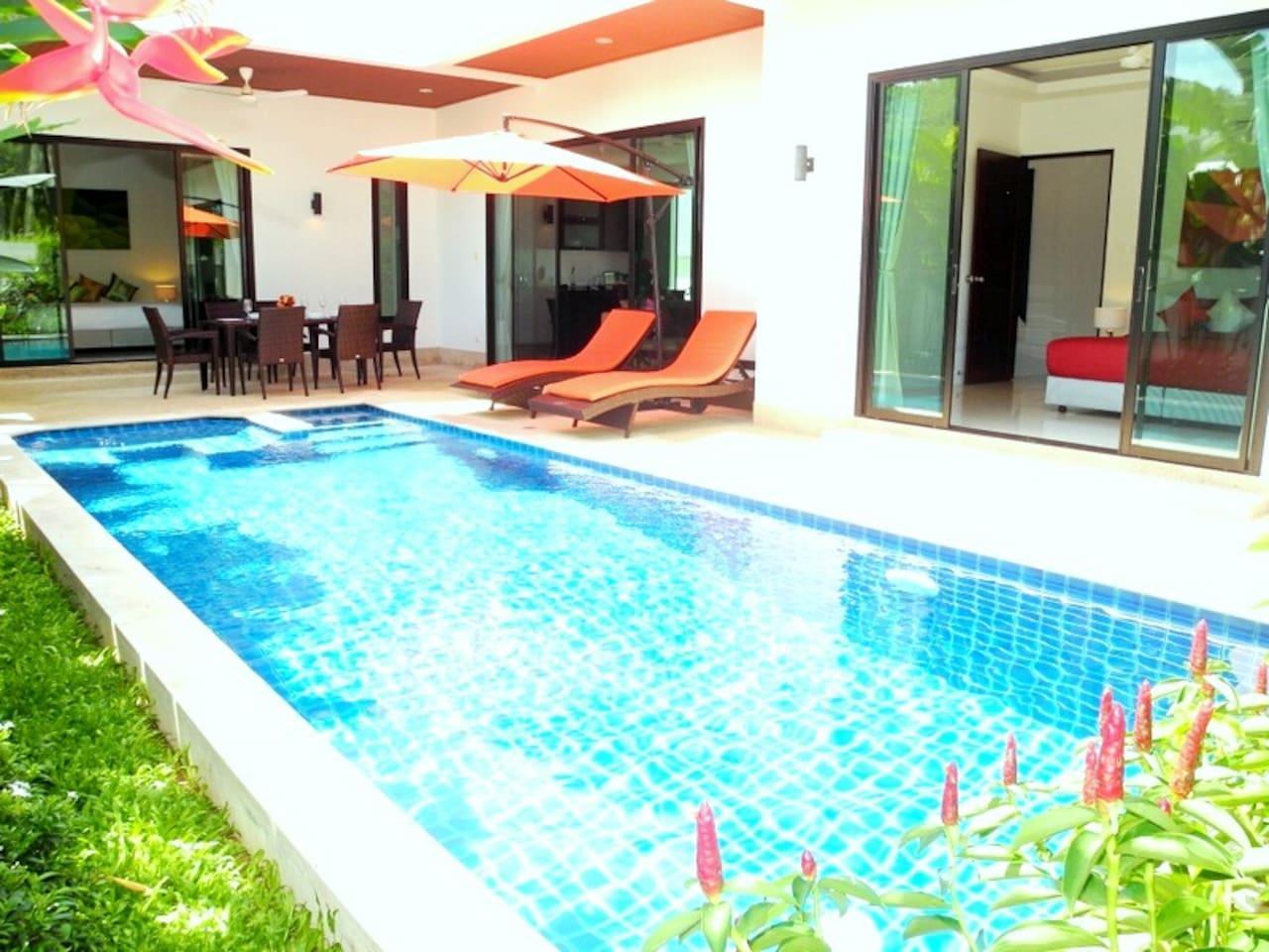 New Villa In A Beautiful Area In Rawai