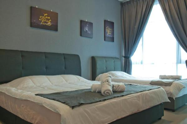 Molek Regency @ UHA Studio 3pax Cozy Luxury FWiFi Johor Bahru