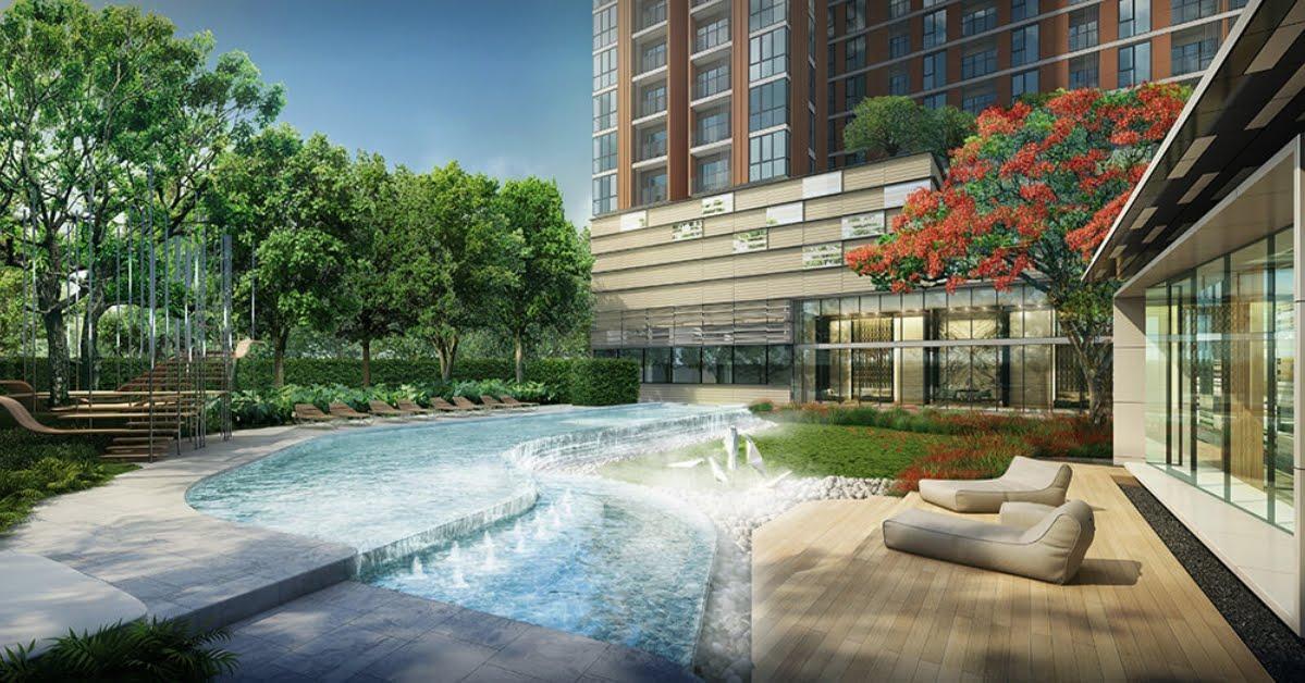 Rama 9   The Base Garden Near Airport Link