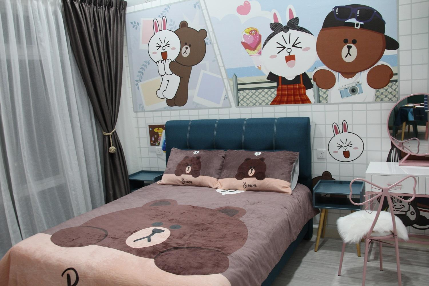 WOW *Line Friends Home*Near Ikea Aeon Water Park