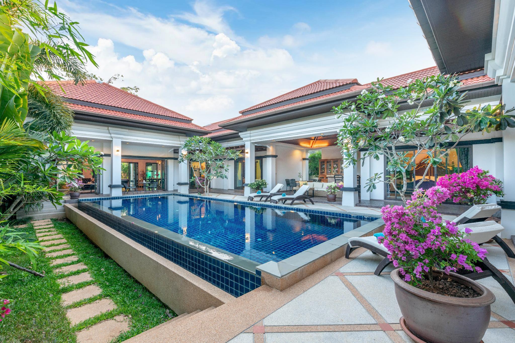 Luxury Private Pool Villa Frangipani Phuket วิลลา 4 ห้องนอน 4 ห้องน้ำส่วนตัว ขนาด 540 ตร.ม. – บางเทา