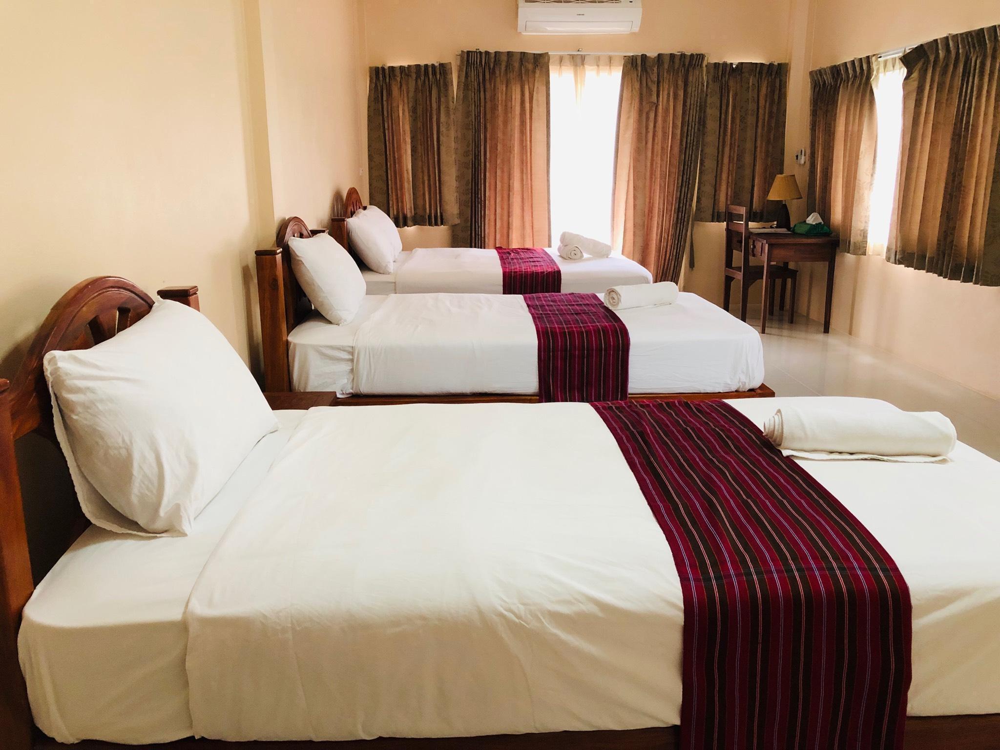 Family stay in Khao Sok Bed and Breakfast อพาร์ตเมนต์ 1 ห้องนอน 1 ห้องน้ำส่วนตัว ขนาด 24 ตร.ม. – ใจกลางเมือง