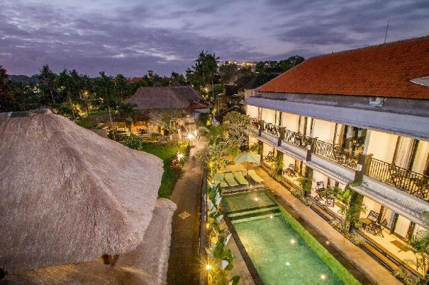 Pool Access Deluxe Room at Ubud Center