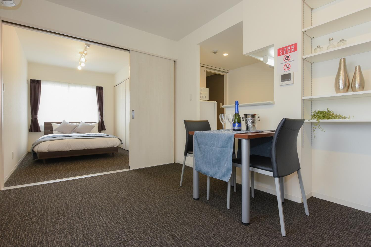 Residence Plus Sapporo 1D 5Clean  Comfortable