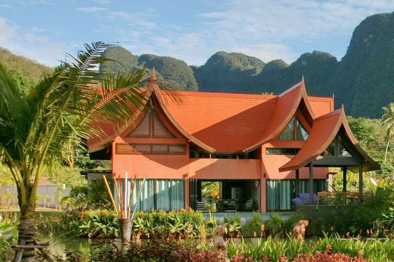Villa Bua Sea Front Villa วิลลา 3 ห้องนอน 2 ห้องน้ำส่วนตัว ขนาด 146 ตร.ม. – บ้านท่าเลน