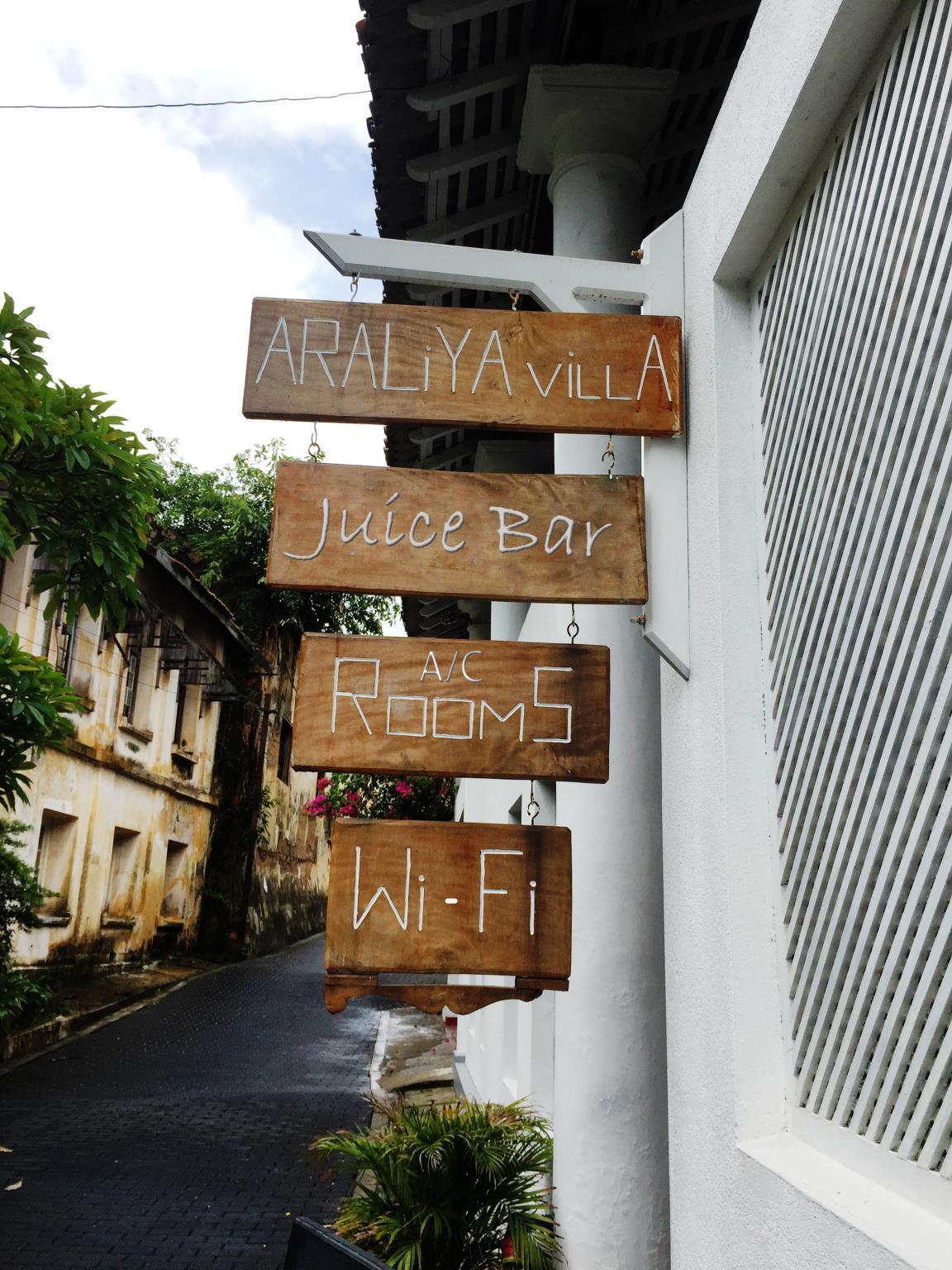 Araliya Villa Fort