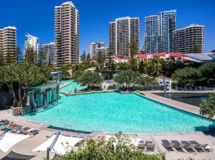 Q1 Resort and Spa Gold Coast - Two outdoor lagoon pools