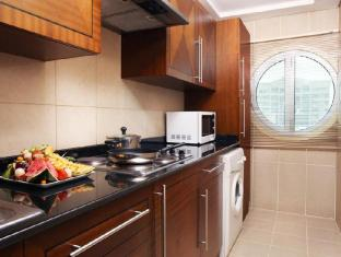 J5 Rimal Hotel Apartments Dubai - Fully Equipped Kitchen in Two Bedroom Suite