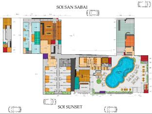 The Yorkshire Hotel Phuket - Floor Plans