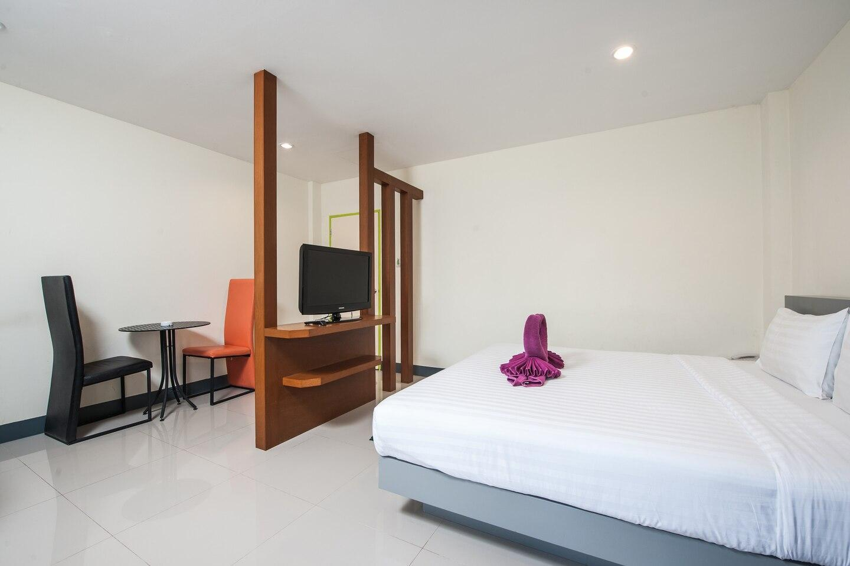 1 Bedroom No. 1 near Rawai & Naiharn beach อพาร์ตเมนต์ 1 ห้องนอน 1 ห้องน้ำส่วนตัว ขนาด 25 ตร.ม. – ในหาน