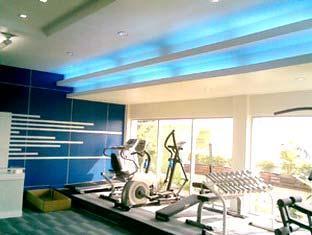 Grande Ville Hotel Bangkok - Sala de Fitness