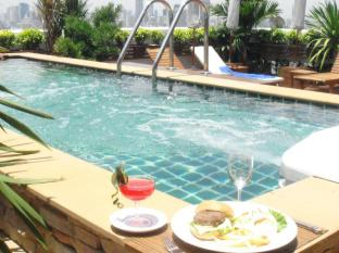 Grande Ville Hotel Bangkok - Banheira de Hidromassagem