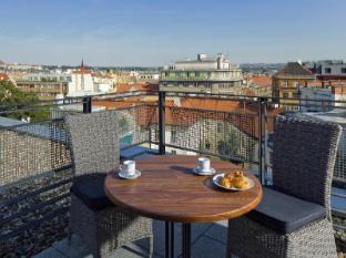 Mamaison Residence Downtown Prague Praag - Balkon/Terras