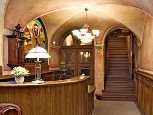 Hotel U Cerneho Orla Prague - Reception