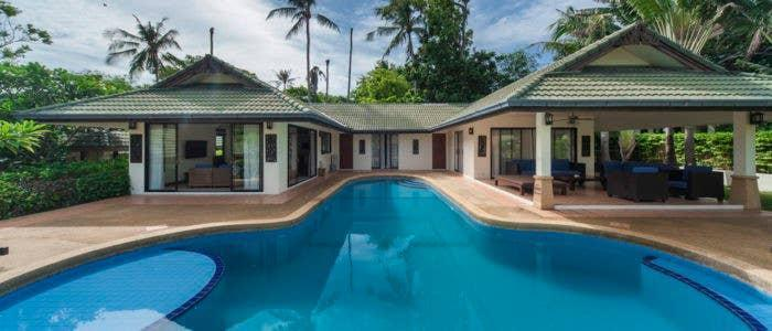 4 Bedroom Grand Beach Villa วิลลา 4 ห้องนอน 4 ห้องน้ำส่วนตัว ขนาด 200 ตร.ม. – เชิงมน