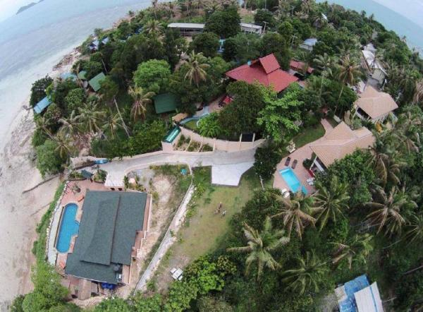 8 Bedroom Twin Sea Front Villas Koh Phangan Koh Phangan