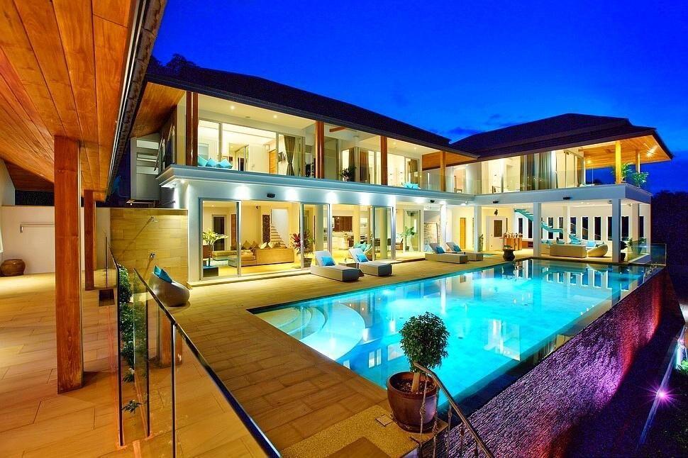 12 Bedroom Luxurious Seaview Villas วิลลา 1 ห้องนอน 1 ห้องน้ำส่วนตัว ขนาด 600 ตร.ม. – บางปอ
