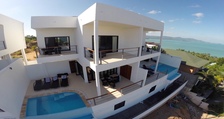 3 Bed Seaview Villa 5 Mins To Beach  B2